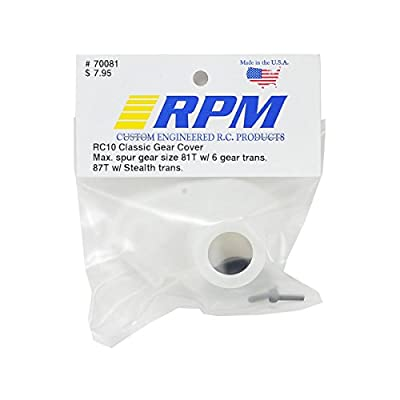 RPM Classic Gear Cover: RC10, RC10T, RPM70081: Toys & Games