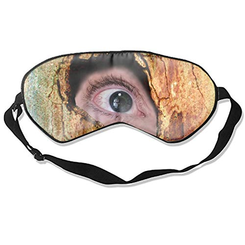 Dark Creepy Horror Spooky Scary Halloween Eye Sleeping Mask Reusable Cold To Improve Sleep Relief Edema Eyestrain Fatigue Headache And Tension Best Men And Women Eye Mask ()