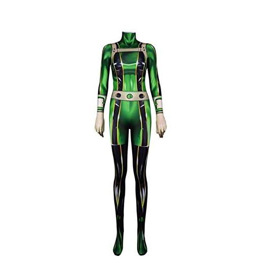 Cosfly 3d Women Kids My Hero Academia Asui Tsuyu Cosplay Costume Zentai Bodysuit Suit