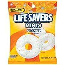 Life Savers, Orange Mints Hard Candy, 6.25oz Bags (Pack of 6) by Life Savers