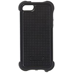 Ballistic SX0945-M005 Maxx Case with Holster and Screen Protector for Apple iPhone 5/5S - Retail Packaging - Black