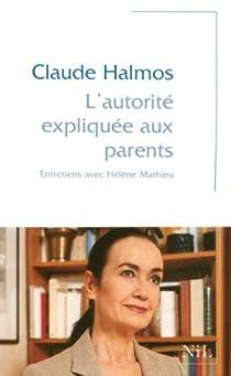 L'autorité expliquée aux parents par Halmos