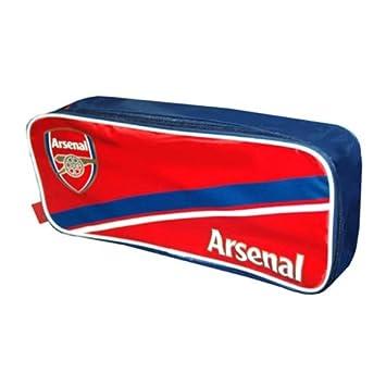 Bolsa para Botas de Fútbol Arsenal FC (Rojo   Azul)  Amazon.es  Deportes y aire  libre a883f2d34d690