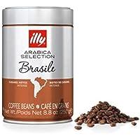 illy Brazil Roast Whole Coffee Beans, 250 g