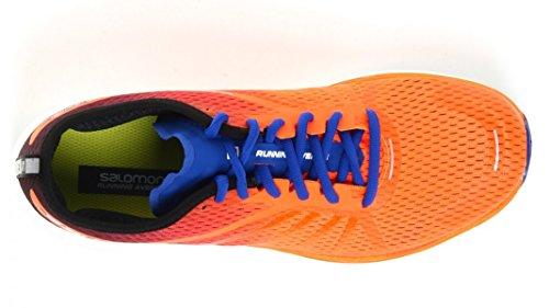 Salomon Sonic RA Pro - shocking orange/surf the web/acid lime