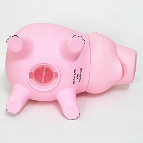 Zaring Cute Pink Pig Money Box Plastic Piggy Bank for Kid's Birthday Gift Without Box by Zaring (Image #3)
