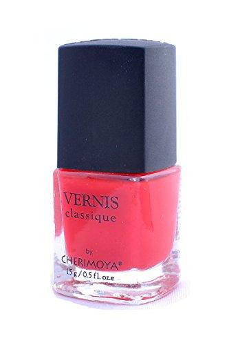 Vernis Classique Nail Polish Neon Cherry 0.5 Fl Oz