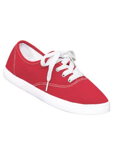 Sneaker Classica Da Donna, Rossa, Taglia 6-1 / 2 (ampia)