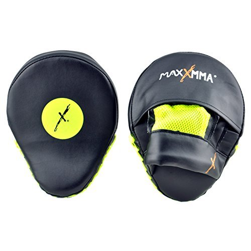 MaxxMMA Pro. Punch Mitts - Boxing Punching MMA Training Fitness Practice