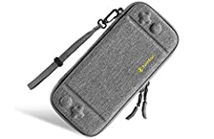 tomtoc Nintendo Switch Protection Case Gamers take gaming seriously. That's why we have produced this lightweight yet stylish and durable case custom-made for protecting and transporting your device. Deluxe, high-end design and top-quality ma...