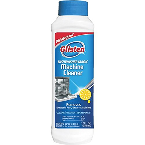 Glisten Dishwasher Magic Cleaner and Disinfectant, 12 Fl. Oz.