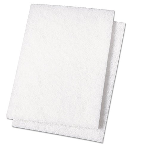 premiere-pads-pad-198-light-duty-scouring-pad-9-length-by-6-width-white-case-of-20
