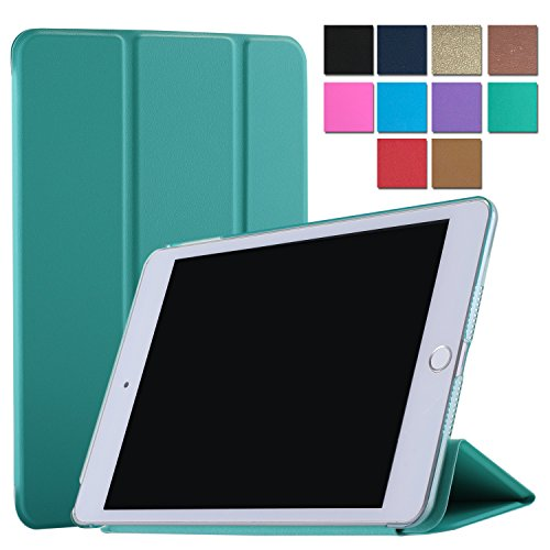iPad Air 1 9.7 Inch Case Tri-Fold Translucent Ultra Slim Sma
