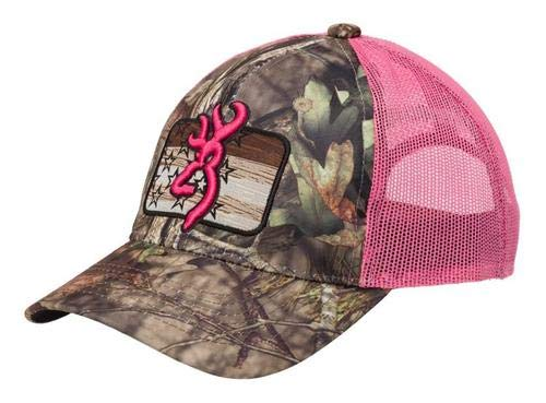 Browning 308579511 Cap, Downwind, Mossy Oak Break-Up Country/Pink by Browning