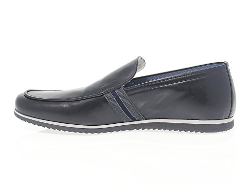 Fabi Mens Fu7321black Zwart Leer Loafers