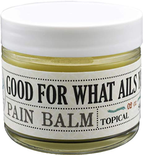 Good For What Ails You Balm Topical Salve 250mg Hemp Extract Isolate Pain Relief Organic