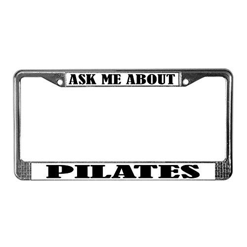 pilates license plate frame - 5