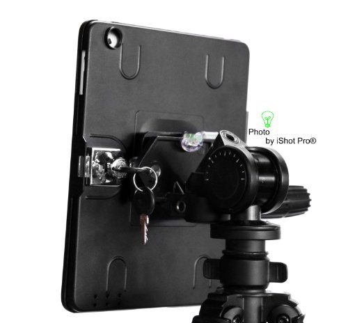 iShot G9 Pro iPad 2 3 4 Gen. Tripod Mount Adapter Holder Attachment - Easily and Safely Mount your iPad 234 to Any 1/4 inch Thread Standard Camera Tripod You Already Use - All Metal Custom Fit Frame by iShot Pro (Image #5)