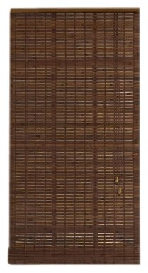 Radiance 0216302 Venezia Roll-Up Blind, 36-Inch Wide by 72-Inch Long, Cocoa