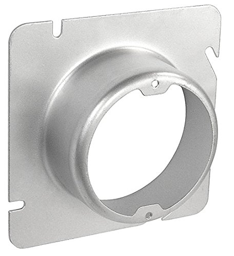 4-11/16 Inch Square To Round 1-1/2 Inch Raised Device Ring-2 per case