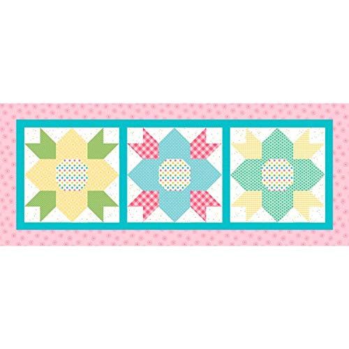 Riley Blake Table Runners-May Blossoms (April Project)
