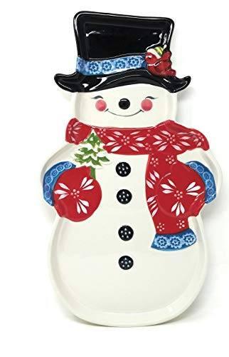 Temp-tations Winter Whimsy Platter with Gift Box, 18