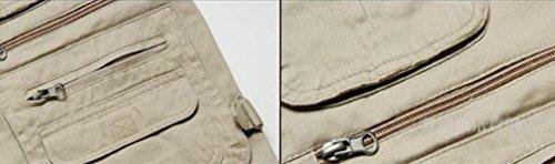 De Hombres Fotografía La Aire Los Pesca De De Al Los De GLF Multi Desnudo Multi bolsillo Hombres Chaleco De Delgada Chaleco Gran Tamaño Sección bolsillo De Libre 3 w4Sxfq7v