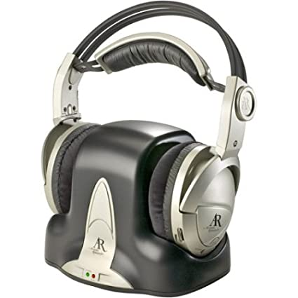 Amazon Acoustic Research AW771 900 MHz Wireless Stereo Headphones Home Audio Theater