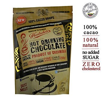 Hasslacher's 250g hot cacao drinking chocolate drops