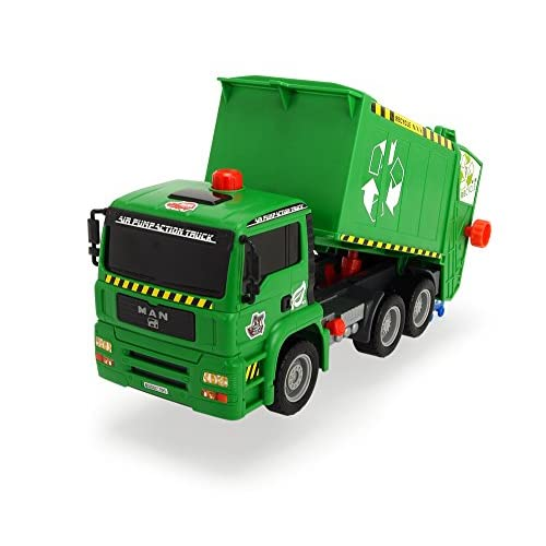 Dickie Toys 203805000 - Camion sanitaire - Air Pump - Radiocommandé - Echelle 1/24