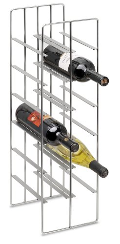Blomus Wine Bottle Storage, Holds 12 Bottles by Blomus