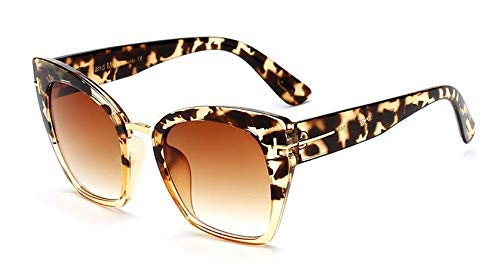 GFF Lady Oversized Sunglasses for Women Cat Eye Glasses Fashion Rivet T Eyewear UV Protection 45079