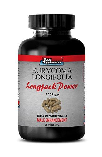 Eurycoma Longifolia Jack - Longjack Power Eurycoma Longifolia 2275mg - Libido enhancer for men (1 Bottle - 60 Tablets) - Eurycoma Longifolia Jack