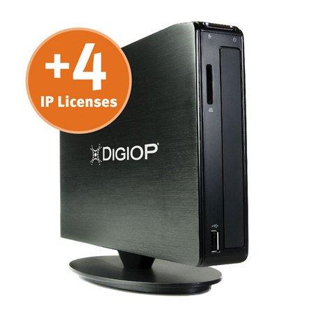 DIGIOP 4-Pack IP License for DIGIOP NT Series NVRs