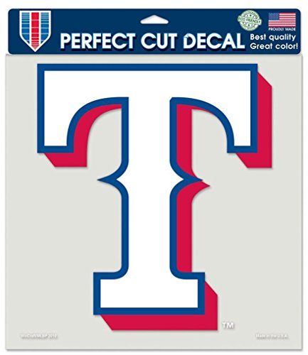 (Wincraft MLB Texas Rangers 79941010 Perfect Cut Color Decal, 8