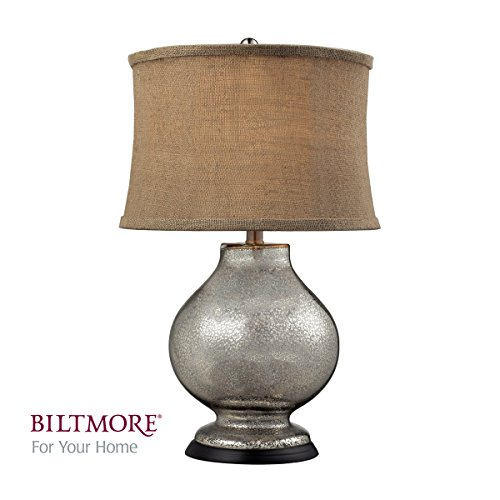 Dimond Lighting D2239 Antler Hill Table Lamp, Antique Mercury Glass Finish