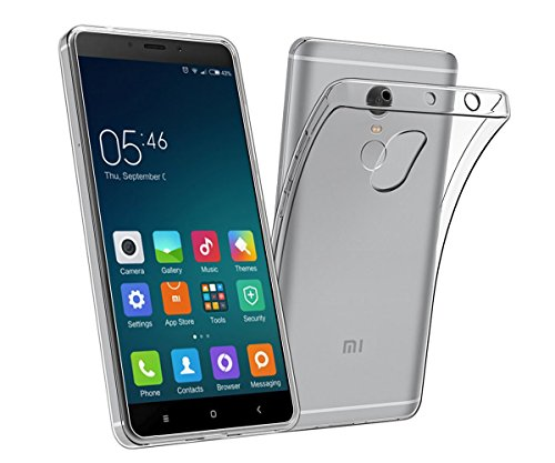 Price comparison product image Xiaomi Redmi Note 4 Case, TopACE Ultra Thin Transparent Soft Gel TPU Silicone Case Cover for Xiaomi Redmi Note 4 (Clear)