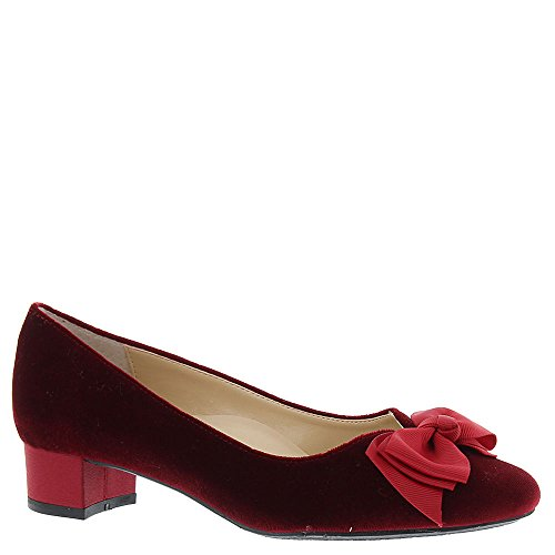 J. Renee Cameo Womens Pump In Velluto Bordeaux