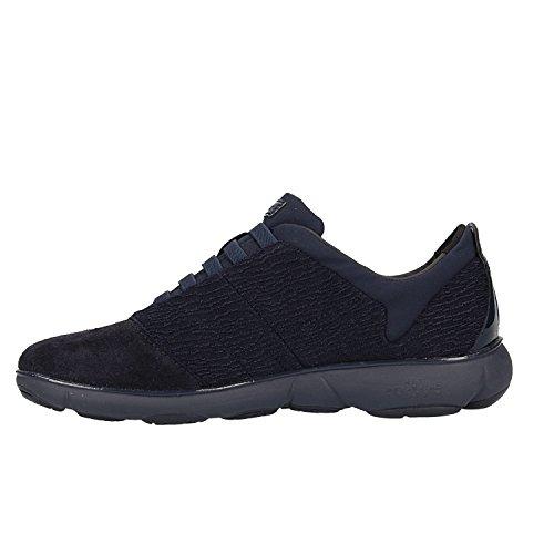 Geox Women's D Nebula C Low-Top Sneakers Blue (Navy C4002) dlRJh20
