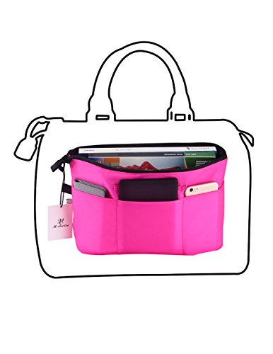 Holly LifePro Premium Two-Side Use Handbag Organizer With YKK Zipper - Perfect Purse Organizer to Keep Everything Neat & in Style