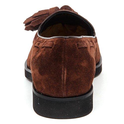Brown Mocassino Woman Marrone Suede Loafer Scarpe Tod's Nappine E4182 Shoe Donna 4dzwdE