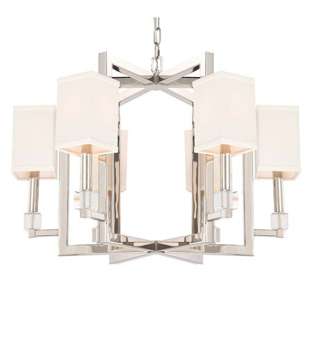 Amazon.com: candelabros 60 luz con cubos de vidrio níquel ...