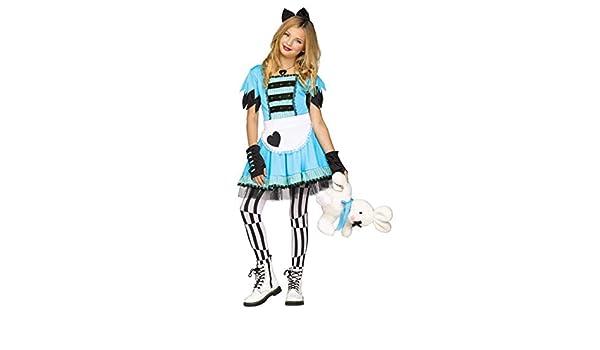 Horror-Shop Disfraz de Alice in Wonderland XL: Amazon.es: Juguetes ...