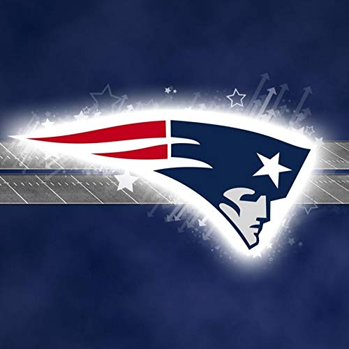 New England Patriots Professional American Football Team Logo Edible Cake Topper Image ABPID04597 - 2