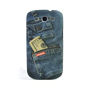 Smart Tech ® Retro Jeans Style Protective Plastic Back Case for Samsung Galaxy S3 I9300/i535/l710/t999/i747 (pattern 2)