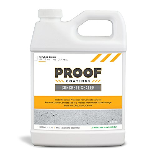 Proof Coatings CO-C32-NF Concrete Sealer, Clear