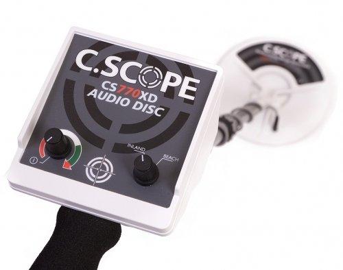 Velleman Metalldetektor Pro C. Scope CS770x D