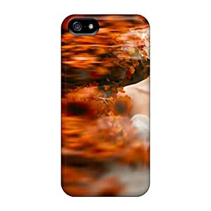 Rugged Skin Case Cover For Iphone 5/5s- Eco-friendly Packaging(married In The Fall)