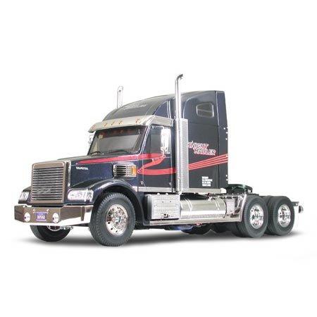 TAMIYA America, Inc 1/14 Knight Hauler 2WD Semi Tractor Kit, TAM56314