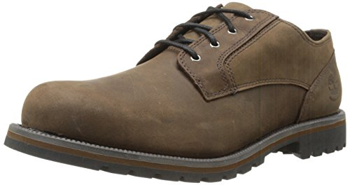 Timberland Men's EK Hartwick Plain Oxford,Dark Brown,8 M US